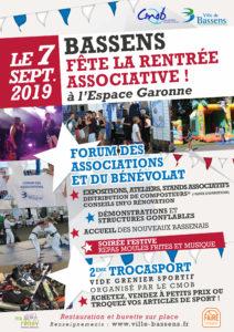 Forum des Associations à Bassens- 07/09/2019 @ Espace Garonne | Bassens | Nouvelle-Aquitaine | France