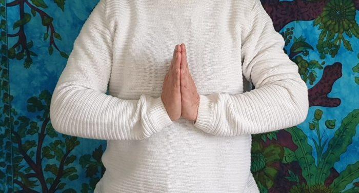 mudra de prière