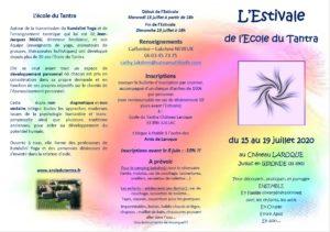 L'Estivale de L'Ecole du Tantra @ Chateau Laroque juillac | Juillac | Nouvelle-Aquitaine | France