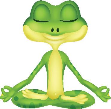 Posture de la grenouille